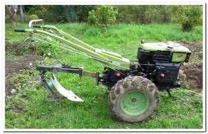 Plow Adjustment On The Tiller