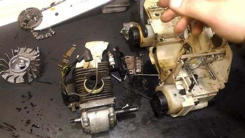 Stihl 180 Engine Assembly