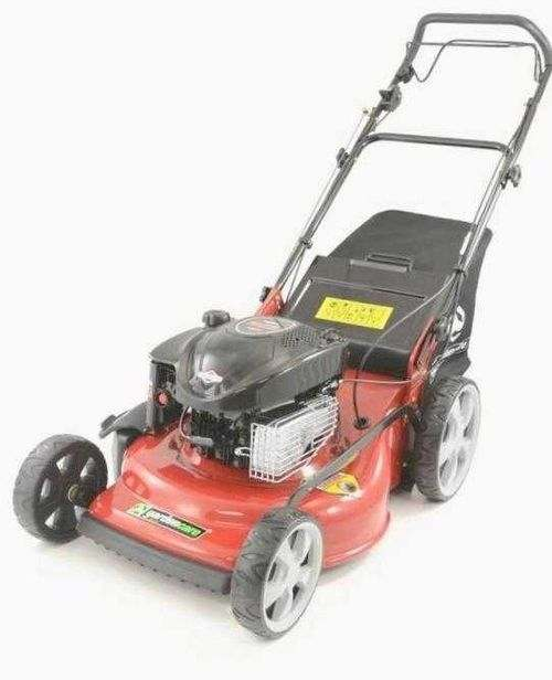 Changing The Oil In The Lawn Mower