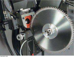 Sharpening Circular Saw Blade With Soldered
