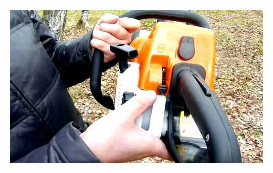 Chainsaw Stihl How To Start On A Cold