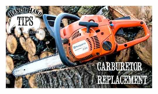 DIY Husqvarna 236 Chainsaw Carburetor Adjustment
