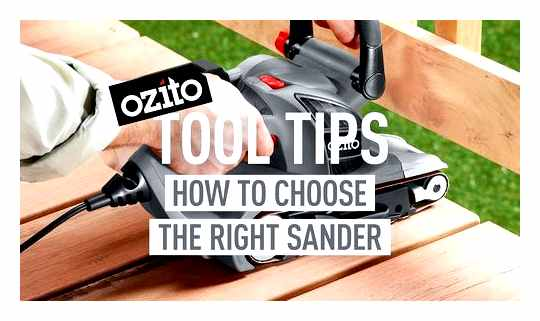 How To Choose A Sander For Your Home