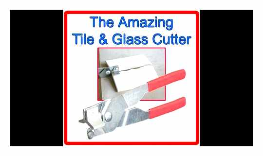 How To Cut Tiles With A Glass Cutter