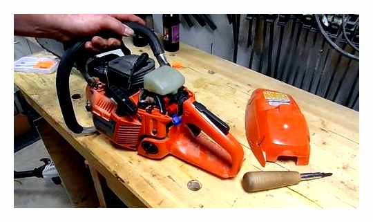 How To Disassemble A Partner 350 Chainsaw