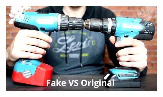 How To Distinguish An Original Makita Screwdriver From A Fake