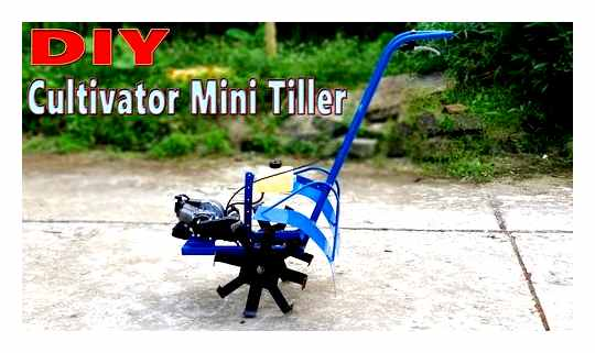 How To Make A Cultivator For A Tiller