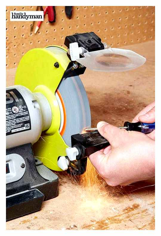 How To Make An Angle Grinder From A Screwdriver