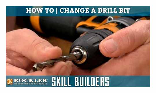 How To Remove A Drill From A Screwdriver