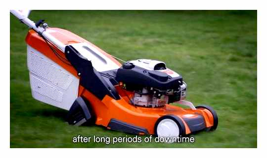 How To Start A Gasoline Lawn Mower Stihl