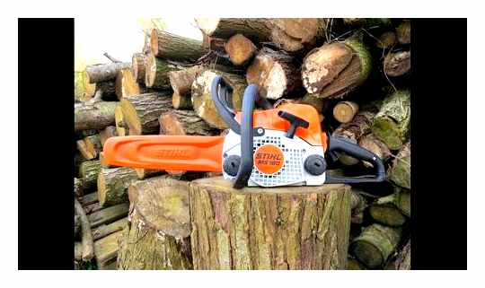 How To Start A Stihl Chainsaw Ms 180