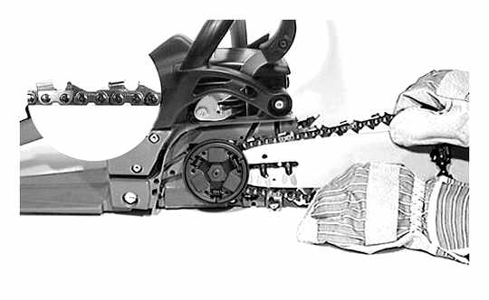 How To Properly Install The Chain On The Saw
