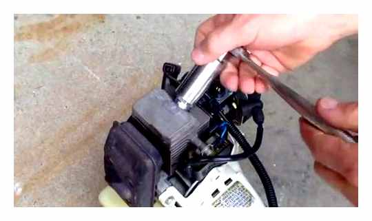 Petrol Trimmer How To Remove The Coil