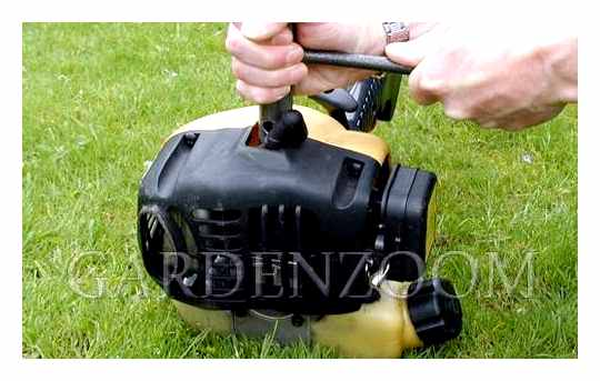 Why The Petrol Trimmer Does Not Start There Is A Spark